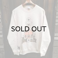 "{MOMENTARY PSYCHO ART} ""Letter From The North"" CREW NECK SWEAT / NATURAL"