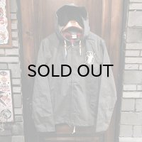 """{MOMENTARY PSYCHO ART} """"Letter From The North"""" ZIP JACKET / GRAY"""