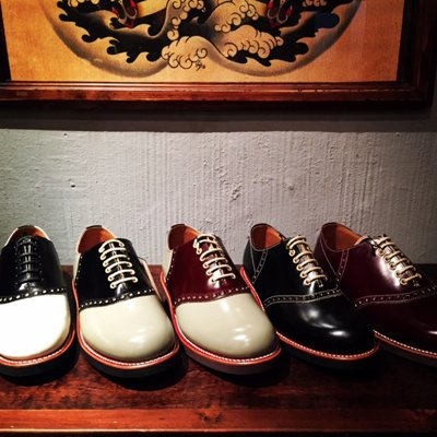 画像1: {GLADHAND×REGAL} SADDLE SHOES
