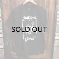 "{SUICIDAL TENDENCIES} ""old school skater"" T-SHIRTS / BLACK"