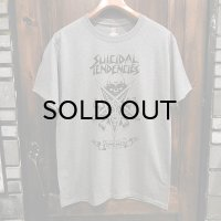 "{SUICIDAL TENDENCIES} ""possessed"" T-SHIRTS / GRAY"