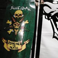 "{SUICIDAL SKATES} ""possessed to skate deck"""