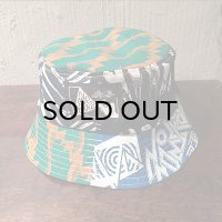 {NO MAD NUMSKULL} BUCKET HAT / CRAZY PATTERN