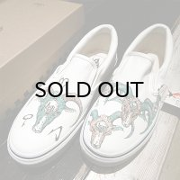 "{MOMENTARY PSYCHO ART} ""HAND PAINT"" Slip-on / 27cm / ""GOAT"""