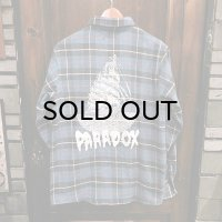 "{PARADOX} ""Ship"" CHECK NEL L/S SHIRT"