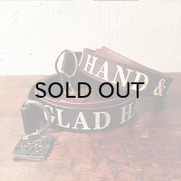 "{GLAD HAND} GH DOUBLE RING - BELT""LETTER"""