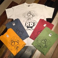 "{RAFFISH DOG × ZONZAI} ""RD"" S/S T-SHIRTS"