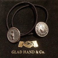 {GLAD HAND} GH HAIR BAND / HAT,SHAKE HAND / SILVER925