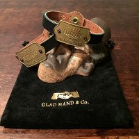 {GLAD HAND} GH TAG - NARROW BRACELET / THANK YOU LOVE