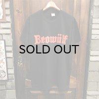 "{BEOWULF} ""beowulf"" logo T-SHIRTS / BLACK"
