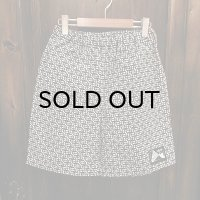 "{NO MAD NUMSKULL} ORIGINAL PATTERN SHORT PANTS / ""死"""