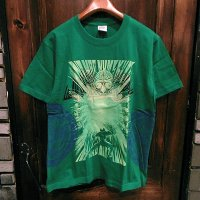 {NO MAD NUMSKULL} MULTI S/S T-SHIRTS / GREEN / M