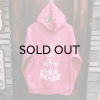 "{MOMENTARY PSYCHO ART} ""Letter From The North"" P/O PARKA / PINK"