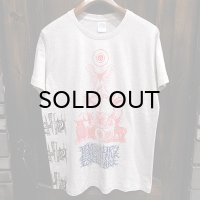"""{MOMENTARY PSYCHO ART} """"Letter From The North"""" MULTI PRINT T-SHIRTS / OAT MEAL"""