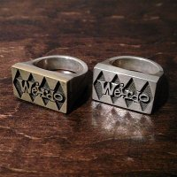 {WEIRDO JEWELRY} SIG-RING / 11,12,13,14