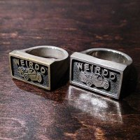 {WEIRDO JEWELRY} PLAQUE RING / 11,12,13,14
