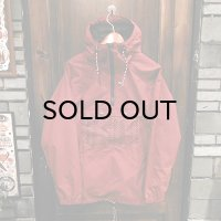 {NO MAD NUMSKULL} ANORAK / BURGUNDY