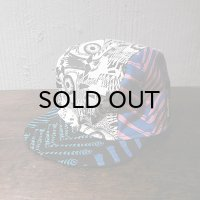 "{NO MAD NUMSKULL} CYCLE CAP / ""EYE×BONE"" / CRAZY PATTERN"