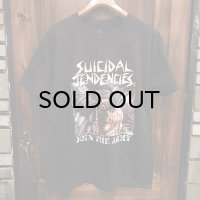 "{SUICIDAL TENDENCIES} ""Join The Army"" T-SHIRTS / BLACK"