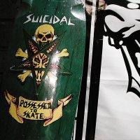 "{SUICIDAL SKATES} ""possessed to skate deck"""