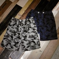 {ANARC of hex} PILE CAMO SHORTS