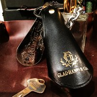 {GLAD HAND} GH - LEATHER SHOE HORN CASE