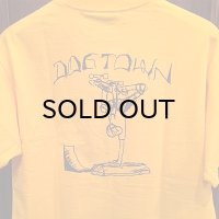 "{DOG TOWN} ""Gonz"" T-SHIRTS / GOLD"