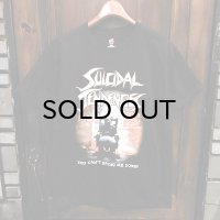 "{SUICIDAL TENDENCIES} ""YOU CAN'T BRING ME DOWN"" T-SHIRTS / BLACK"