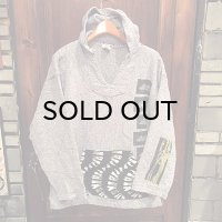 """""""USED"""" {NO MAD NUMSKULL} Remake Mexican Parka / WHITE×NAVY"""
