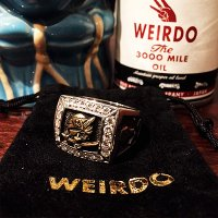 {WEIRDO JEWELRY} GEMSTONE RING / BANDITS / 19~22号 / SILVER925×BRASS