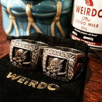 {WEIRDO JEWELRY} GEMSTONE RING / BANDITS / 18号