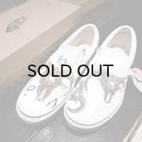 "{MOMENTARY PSYCHO ART} ""HAND PAINT"" Slip-on / 27.5cm / ""GOAT"""