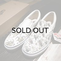 "{MOMENTARY PSYCHO ART} ""HAND PAINT"" Slip-on / 28cm / ""GOAT&FLY"""