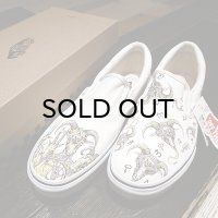 "{MOMENTARY PSYCHO ART} ""HAND PAINT"" Slip-on / 28cm / ""GOAT"""