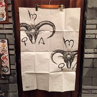 "{MOMENTARY PSYCHO ART} ""GOAT"" ORIGINAL PIECE BIG POSTER"