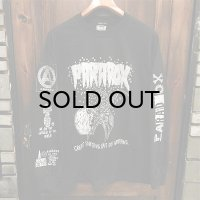 "{PARADOX} ""Crab Soldier"" L/S T-SHIRTS / BLACK / (M-L-XL)"