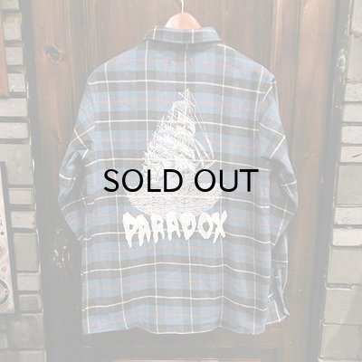 "画像1: {PARADOX} ""Ship"" CHECK NEL L/S SHIRT"