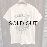 "{PARADOX} ""spear and shield"" S/S T-SHIRTS / NATURAL"