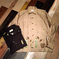 {5 WHISTLE} TIKI BAR L/S SHIRT