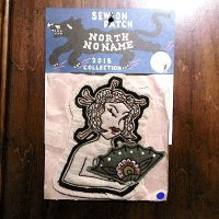 "{NORTH NO NAME} FELT PATCH / M / ""GIRL"""