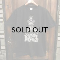 """{MOMENTARY PSYCHO ART} """"Letter From The North"""" T-SHIRTS / BLACK / (L)"""