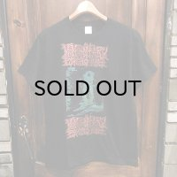 "{MOMENTARY PSYCHO ART} ""HALLUCINATION"" T-SHIRTS / BLACK / (M)"