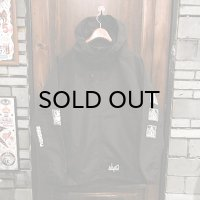 {NO MAD NUMSKULL} NYLON PARKA / BLACK / (XL)
