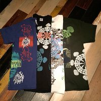 "{NO MAD NUMSKULL}  ""MULTI PRINT"" S/S-Tee"