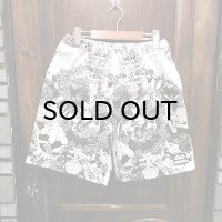 "{NO MAD NUMSKULL} ORIGINAL PATTERN SHORT PANTS / ""IMAGE"" / L"