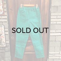 "{NO MAD NUMSKULL} ORIGINAL PATTERN LONG PANTS / ""GAZE"" / GREEN / (S)"