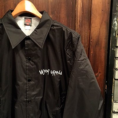 "画像1: {VIOLENT GRIND} ""Pushead"" COACH JACKET"