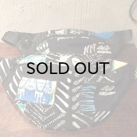 "{NO MAD NUMSKULL} WAIST POUCH - BIG / ""PATCHWORK"""