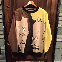 "{ROLLING CRADLE×BEAVIS & BATTHEAD} RC×B&B KNIT ""BEAVIS & BATTHEAD"""
