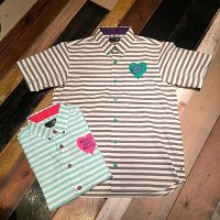 {MAGICAL MOSH MISFITS} MxMxM HEARTS ボーダー SHIRT